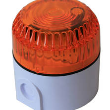 Orange flashing light 6W