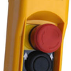 Actuator Handheld Control box with 2 buttons and emergency stop