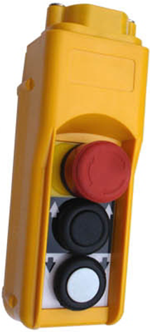Hand Held Pedant Control Station With 2 Button For Crane